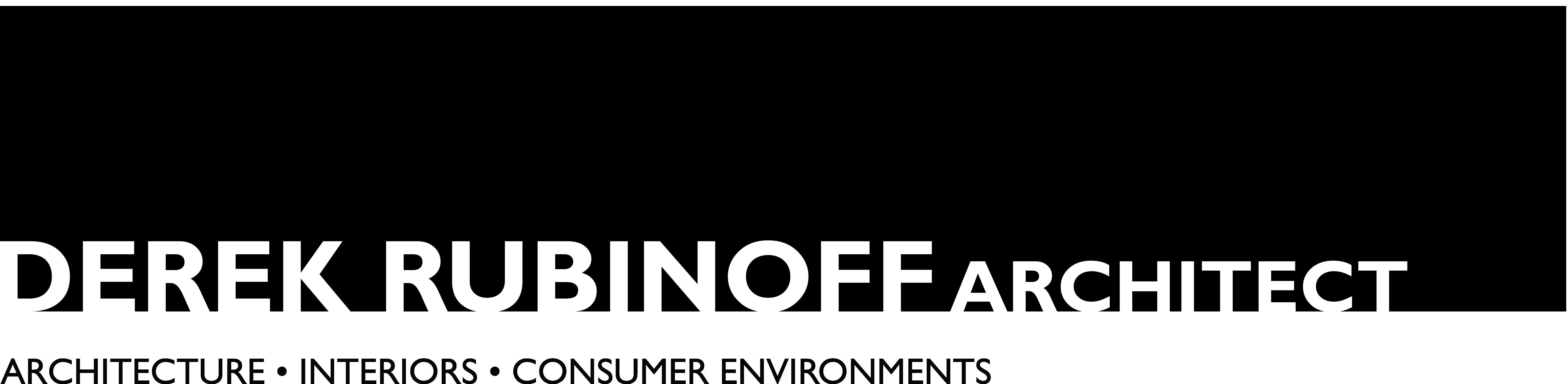 Derek Rubinoff Architect logo band