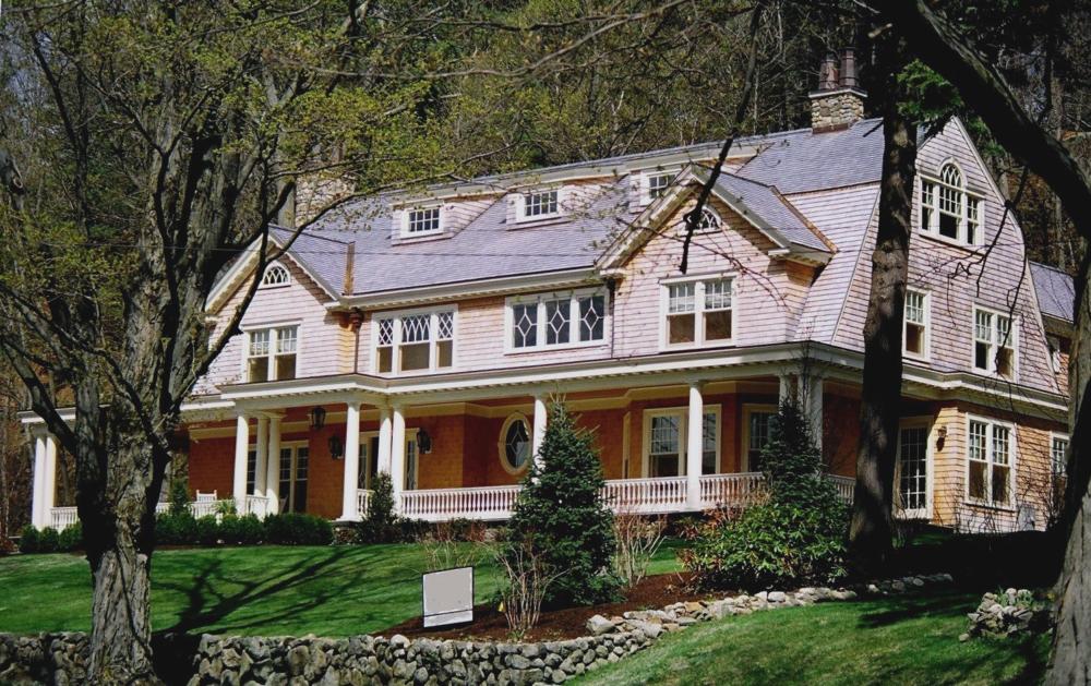 Gambrel shingle house 7 Jamie Devol