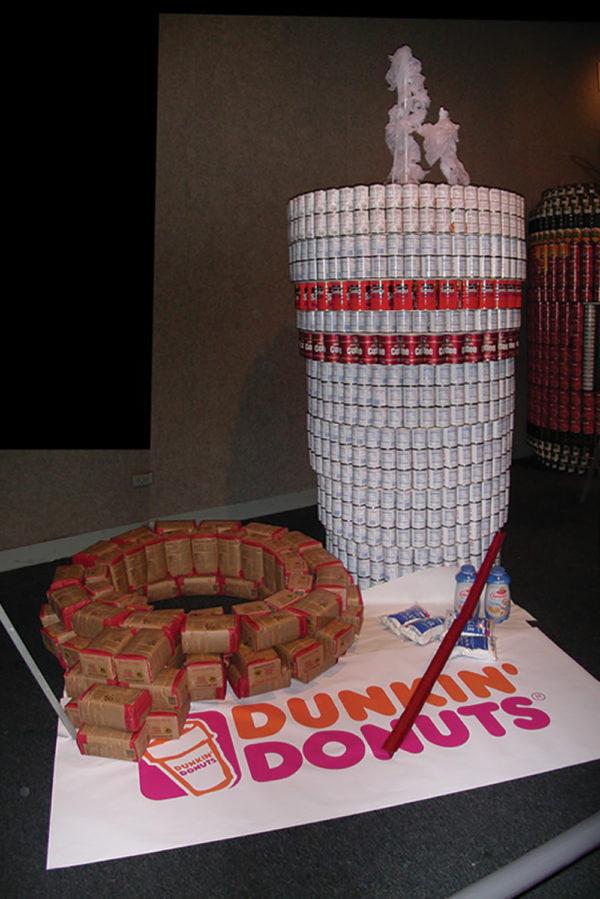 Dunkin Donuts 2001