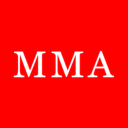 256x sq MMA logo red