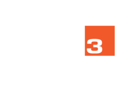 CUBE3 full logo White with 2021 copyright 01