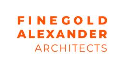 FA logo stacked orange on white