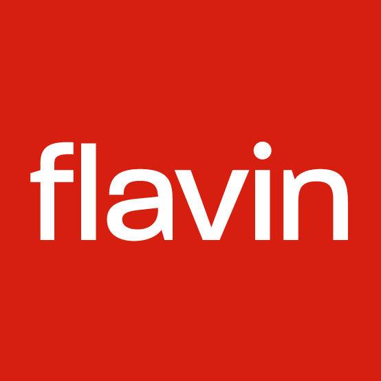 Flavin logo social media