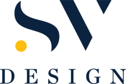 SV Design Logo Modern Navy