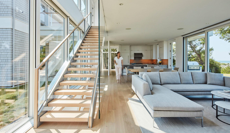 Paines Creek Living Room Toward Kitchen